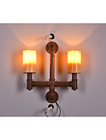 The Pipe Wall Coffee Hall Bar Retro Industrial Iron Wall Lamp Lamp 1 Patent Products