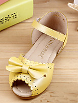 Girls' Shoes Dress D'Orsay & Two-Piece Sandals Yellow/White