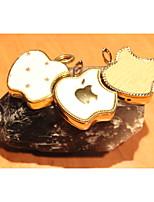 personalidad manzana de oro de doble cara de impresión más ligero (color al azar)