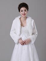 Fur Wraps / Fur Coats Coats/Jackets Faux Fur Ivory
