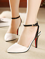 Women's Shoes Stiletto Heel Pointed Toe Pumps Dress White
