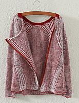 Fashion Women's Casual/Work Micro-elastic Medium Long Sleeve Cardigan (Wool/Knitwear/Acrylic)