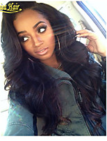 100% Human Hair Lace Front Wig 10-32Inches (Free Shipping) Fascinating Smooth Long Deep Wave Brazilian Hair