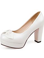 Women's Shoes  Stiletto Heel Heels/Round Toe Pumps/Heels Office & Career/Dress/Casual Blue/Pink/White