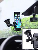 support pour iphone 6 / samsung S6 + plus de montage pare-brise universel voiture tableau de bord - noir