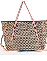 Women 's Nylon Shopper Tote - Brown