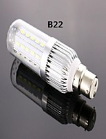 B22 8 W 42 SMD 5730 800 LM Cool White A Corn Bulbs AC 85-265 V