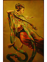 Prints Poster Flying beauty Pictures Print On Canvas  1pcs/set (Without Frame)