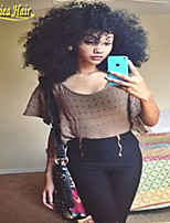 Large stock lace front hair wigs & full lace wig glueless kinky curly wigs Brazilian virgin human hair natural hairline