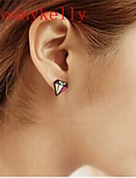 Toonykelly® Fashionable Multicolor Earring Stud (1Pair)