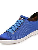 Scarpe da uomo - Sneakers alla moda - Tempo libero / Casual - Di pelle - Blu / Marrone / Giallo / Rosso