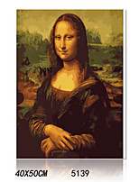 DIY Digital Oil Painting With Solid Wooden Frame Family Fun Painting All By Myself     Mona Lisa 5139