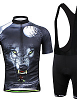 Men's Jersey Short-sleeved Suit Cycling Jersey & Bib Pants Strap Short Sleeve Cycling Jersey