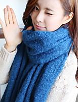 Women Cute Tassel Thickening Longer Shawl