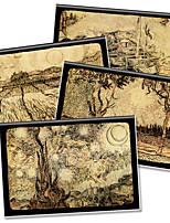 x - libro a5-96 los helados de alta calidad cuadernos de revestimiento de caucho (art loco) (4 libros por paquete) a5-96-jt-025