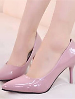 Women's Shoes Stiletto Heel Pointed Toe Pumps/Heels Dress Black/Pink/Gray