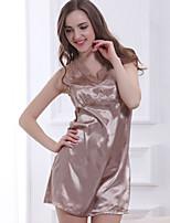 Women Polyester Satin & Silk/Ultra Sexy Nightwear