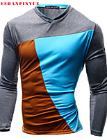 2015 Men Leisure Long-sleeved T-shirt