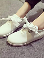 Scarpe Donna - Sneakers alla moda - Tempo libero / Casual - Comoda / Punta arrotondata / Chiusa - Zeppa - Tessuto - Bianco
