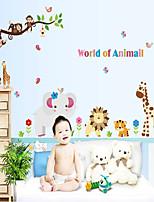 la maison de amovible petit animal de chambre / chambre de sticker mural pour enfants