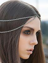 Dame Legering Headpiece Avslappet/Utendørs Pannekjede Avslappet/Utendørs 1 Deler