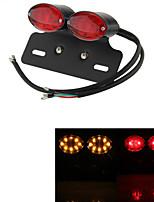 ATV Turn Signal Brake License Plate Integrated Light Lamp Motorcycle 34 LED  (1 Pc)