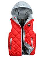 Men's Sleeveless Vest , Cotton Casual Pure