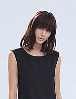 mode ondulées cheveux humains vierges remy perruques courte mono top perruque de cheveux