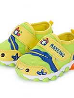 Baby Shoes Outdoor/Casual Tulle Athletic Shoes Blue/Yellow/Pink