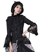 PYON PYON LY-003 Women's Vintage/Sexy Inelastic Long Sleeve Regular Shirt