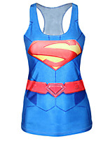 Modern Superman Sexy Woman Cosplay Costumes