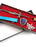The Legend of Zelda Master Sword Model Keychain