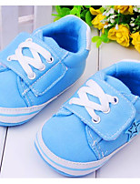 Baby Shoes Casual Fabric Fashion Sneakers Blue/Neutral