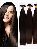 Brazilian Virgin Keratin Capsule Fusion Prebonded Hair Extension Flat Hair Extension 1G/S 100G/PC 1Pc/Lot In Stock