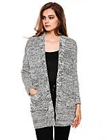 Chinanuo Women's Easy Medium length  Cardigan (Cotton Blends)