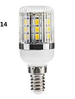 E14/G9 4 W 30 SMD 5050 400 LM Warm wit/Koel wit Dimbaar Maïslampen AC 110-130/AC 220-240 V