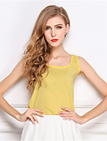 Polyester Vrouwen - Blouse - Mouwloos