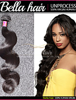 Brazilian Hair Bundles Virgin Hair Body Wave Wet and Wavy Top Hair Extensions Human Hair Weave 1pc