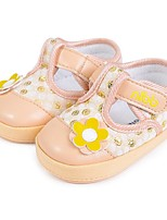 Baby Shoes Casual Fabric Fashion Sneakers Pink/Champagne