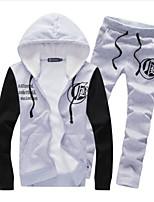 Herren Freizeit Activewear Sets Lang Polyester