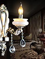 Crystal Candle Wall Lights , Traditional/Classic E12/E14 Metal