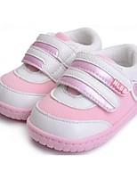 Zapatos de bebé - Sneakers a la Moda - Casual - Semicuero - Rosa / Rojo