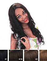 10''-24'' Chinese Virgin Human Hair Wigs Full Lace Wigs With Baby Hair For Blacek Women