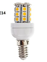 Ampoule Maïs Gradable Blanc Chaud/Blanc Froid E14/G9 3 W 27 SMD 5050 350 LM AC 100-240 V