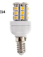 E14/G9 3 W 27 SMD 5050 350 LM Warm wit/Koel wit Dimbaar Maïslampen AC 220-240 V