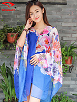 Women's Floral Halter Cover-Ups (Polyester)SM7A07