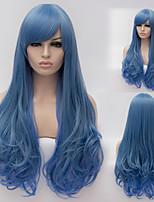 grande onda ragazza parrucche moda di alta qualità del filo ad alta temperatura europeo ed americano necessario