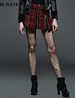 PUNK RAVE Q-264 Women's Vintage/Sexy/Bodycon Micro-elastic Medium Above Knee Skirts