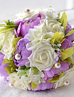 Penoy Wedding Bouquet Bride Holding Flowers