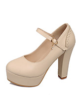 Women's Shoes Chunky Heel Heels/Round Toe/Closed Toe Pumps/Heels Office & Career/Dress/Casual